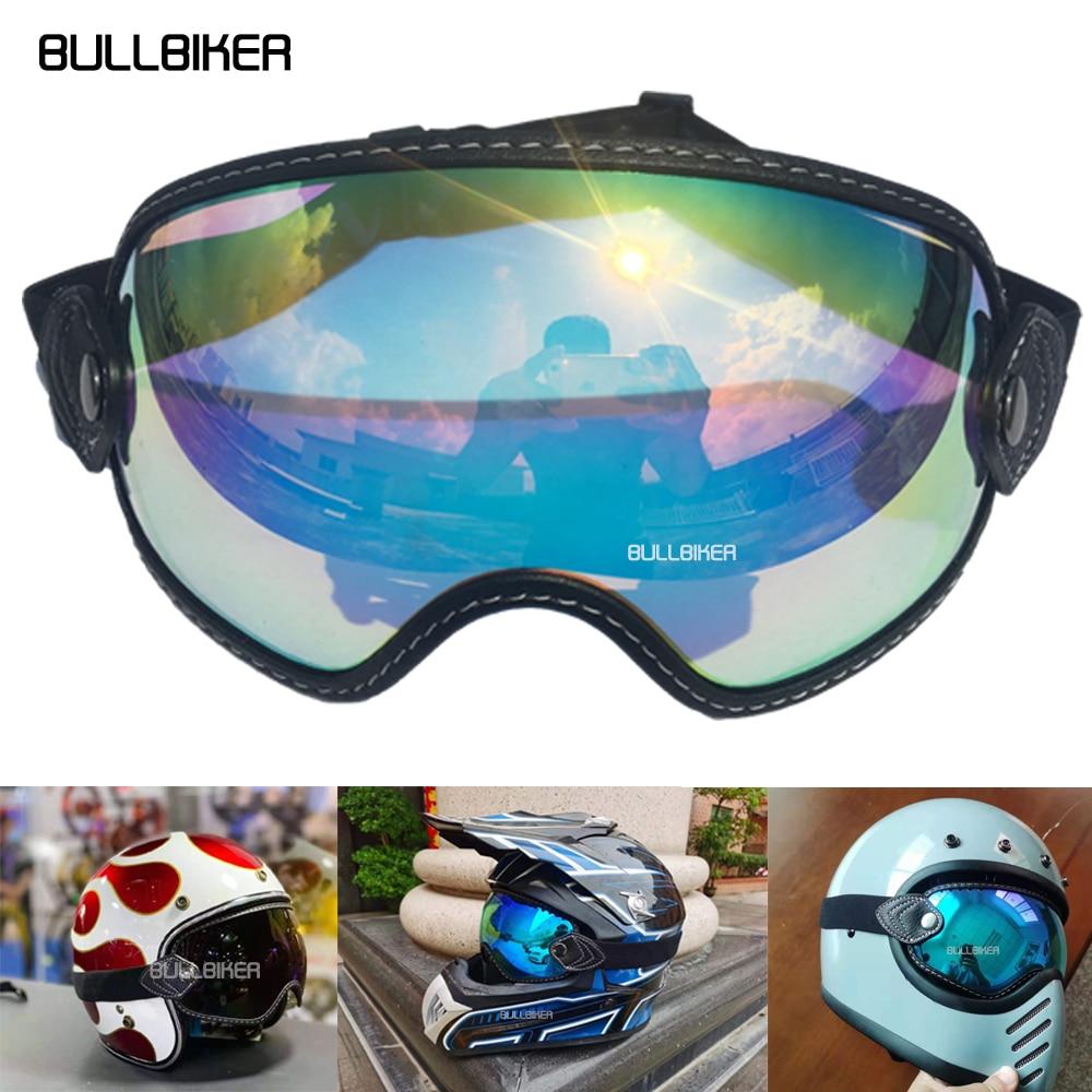 نظارات شمسية جديدة للخوذة من بولبيكر للدراجات النارية نظارات للأنشطة الخارجية ATV لنظارات موتوكروس خوذة دراجات نارية MX نظارات واقية