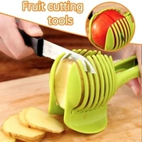 handheld potato slicer tomato lemon fruit orange egg cutter multi use kitchenware clip apple creative kitchen gadget accessorie
