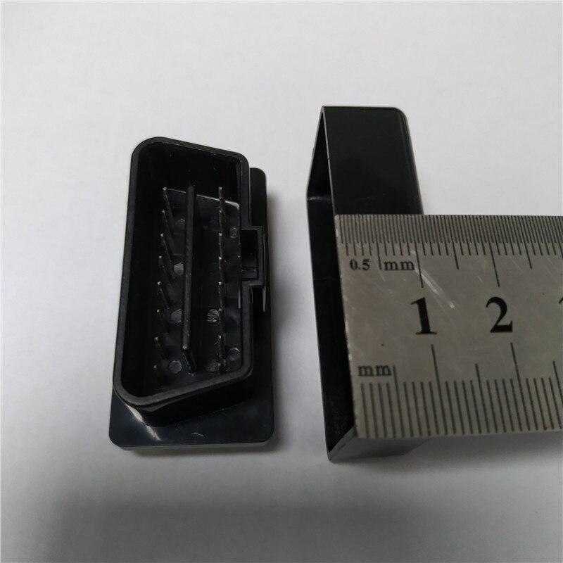 10pcs ELM327 Black Case OBD2 / OBDII ELM 327 Black Case only the case Free Shipping