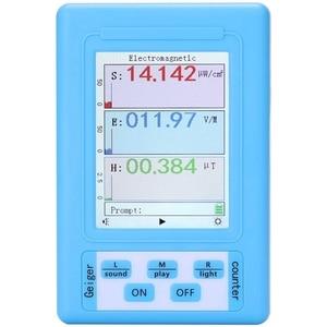 BR-9A Handheld Portable Electromagnetic Radiation Detector High Precision Electromagnetic Radiation Tester