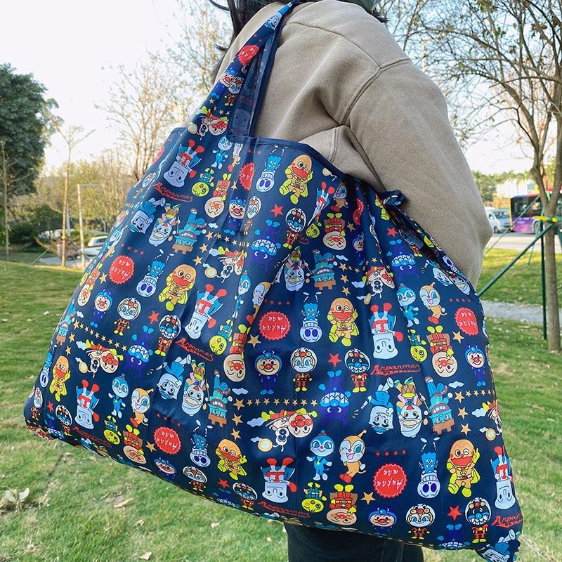 Bolsa de comestibles reutilizable, bolsa de compras lavable a  de plegado, bolsa de mano grande de 50 libras