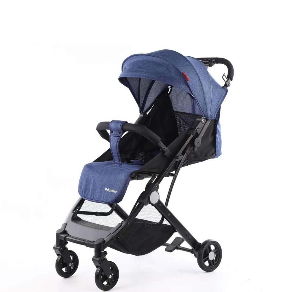 Baby stroller folding portable trolley baby stroller ultra light umberlla mini lightweight stroller on the plane enlarge