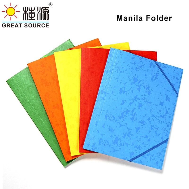 Бумага манильская папка A4 папки с проектом дней документ файлов папки красочные Бумага карты FolderW235 * L315mm (9,25