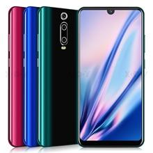XGODY 3G téléphone portable 9T 1GB 4GB 6.26 'QHD écran MTK6580 Quad Core Android 9.0 Waterdrop plein écran 2800mAh Smartphone
