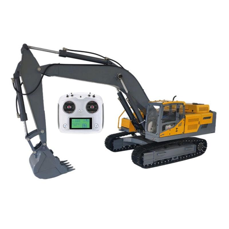جديد سبيكة 1:12 حفارة هيدروليكية نموذج EC480DL RC آلات البناء سيارة لعبة مجسمة