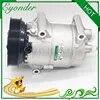 Pompe de refroidissement de climatisation compresseur de climatisation A/C PV6 pour Nissan DUALIS J10 JJ10 ALMERA N16 1.5 K9K 1139026 7711135105 8200940837
