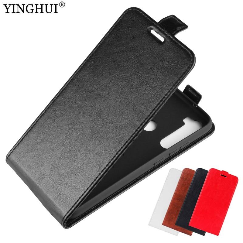 Para xiaomi Redmi Note 8T Funda de cuero PU cubierta de la caja para xiaomi Redmi Note 8T teléfono recubrimiento de pu funda de teléfono con tapa vertical