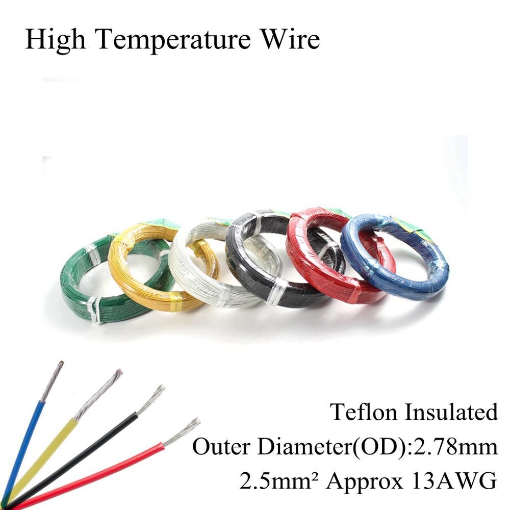 Cable de envoltura de cobre Chapado en plata, 13AWG, 2,5mm cuadrados, alambre...