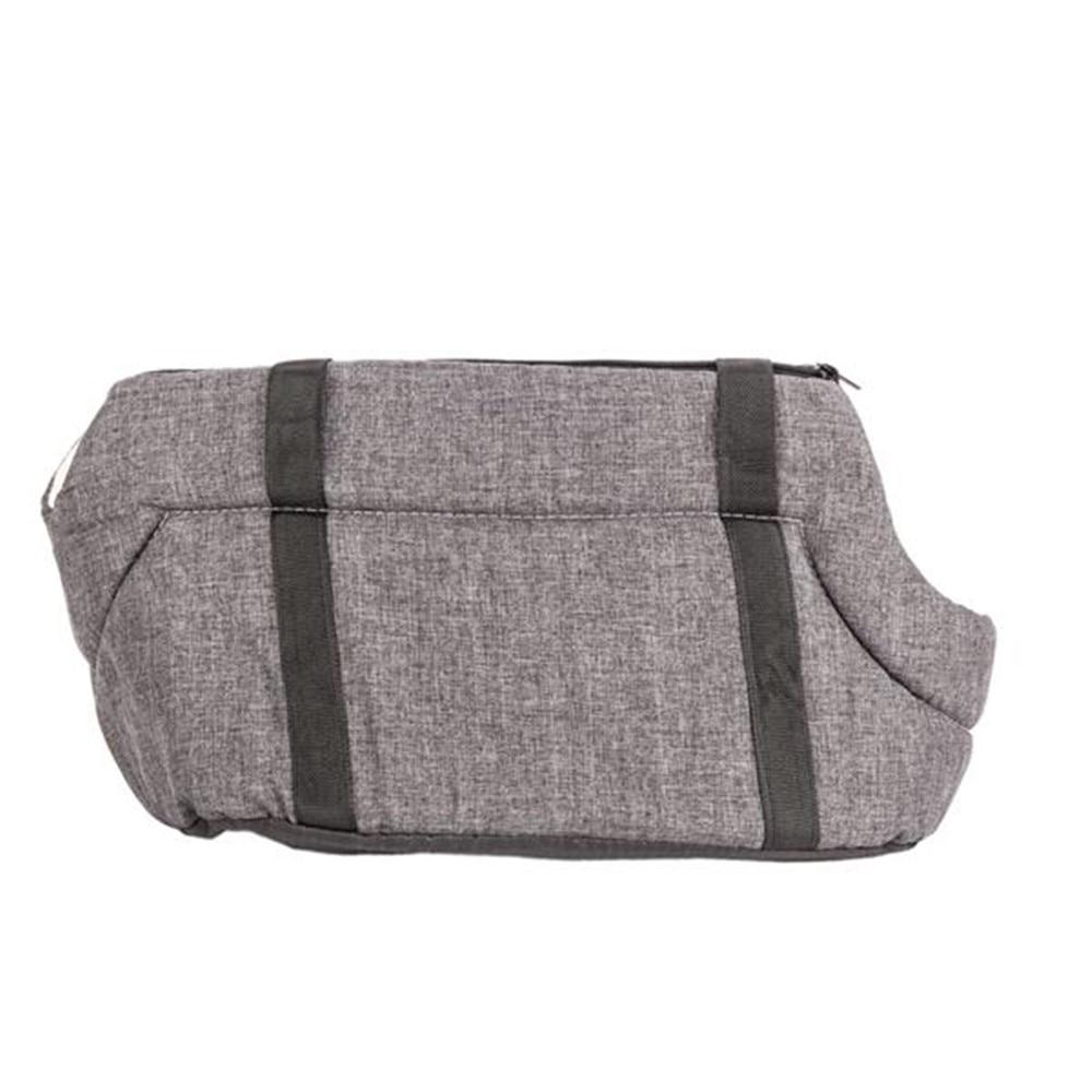 La mascota de portador de viaje al aire libre bolso bolsa de Pet bolsa de arpillera de un solo hombro bolso comodidad de viaje Bolso grande de hombro