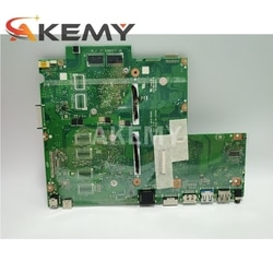 Placa-mãe do laptop Akemy para placa-mãe original ASUS X541NC X541N com CPU N3710 GT810M 4 GB de RAM