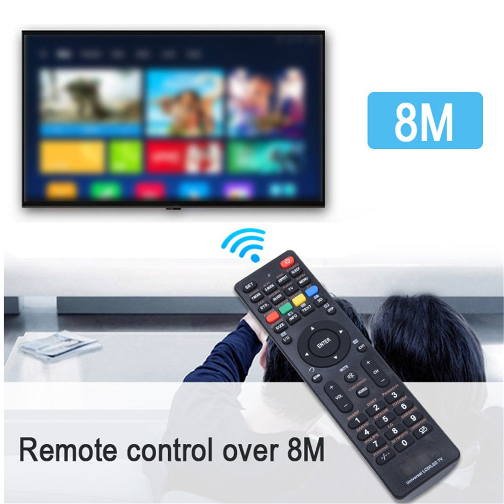 Mando a distancia Universal de TV RM-L1130, televisor LCD LED HD con batería de plástico ABS, controlador accionado por Control remoto para televisor