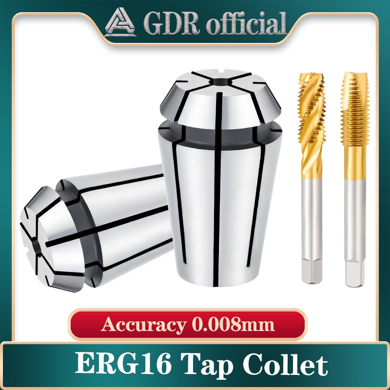 er11 tap collet tap chuck tap ERG32 ERG16 square tap chuck ER collet ISO JIS type machine tap chuck for lathe milling tool