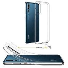 화웨이 p에 대한 소프트 TPU 케이스 스마트 G9 P9 P10 플러스 P8 라이트 2017 Y5 Y6 프로 Y7 프라임 Y9 2018 노바 2 2S 2i 케이스 실리콘 전화 커버
