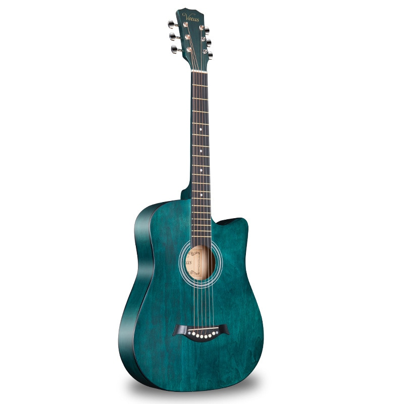 Linden Acoustic Guitar Hollow Body Pickup High Quality Guitar Vintage Portable Guitarra Acustica Musical Instruments DE50JT enlarge