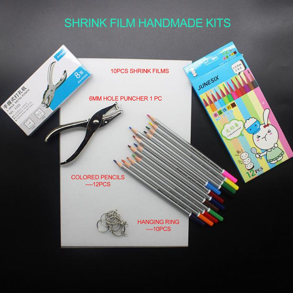 clear heat shrink paper tool shrink films sheet kits