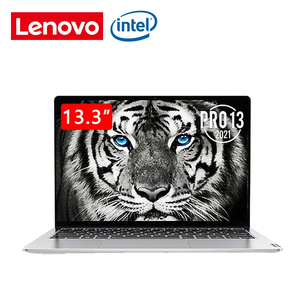 Lenovo Pro 13 laptop 2021 i5-1135G7 16G ram 512GB SSD 13.3-inch high-performance thin and light notebook computer bright silver