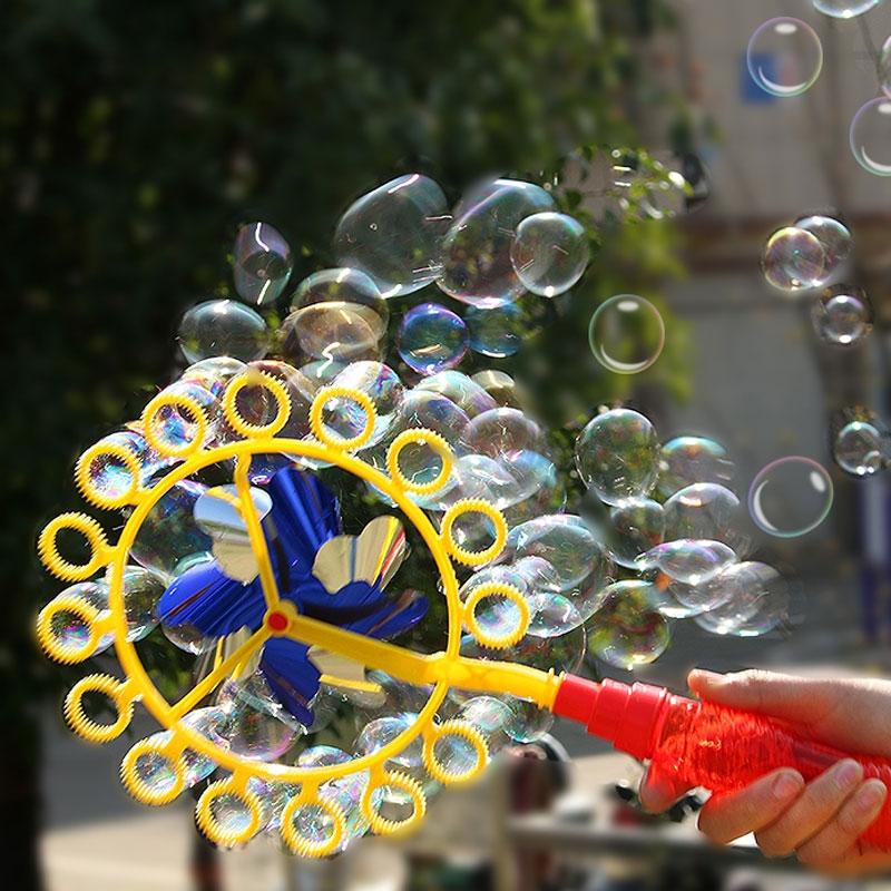 Забавные ветряная мельница для изготовления воздуходувки машина с пузырями игрушки на открытом воздухе большая машина пузыря Красочный Бо... 18 104 набор для изготовления интерьерной игрушки ксюша 26см