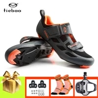 tiebao men triathlon cycling shoes sapatilha ciclismo road bike sneakers women spd sl pedals outdoor sport riding bicycle shoes