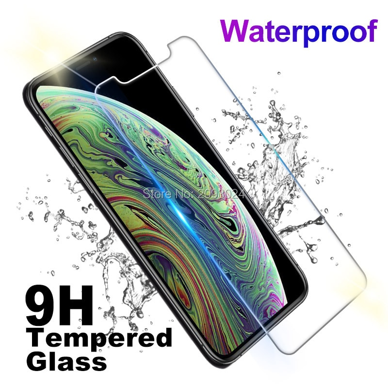 For iPhone 11 2019 Tempered Glass Screen Protector Cover For iPhone 11 Pro Max 2019 6.1 6.5 5.8 inch