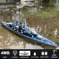 1360 scale 28 inch remote controlled warship battleship rc ship 20 25kmh on lakes pools exhibits models for boys children