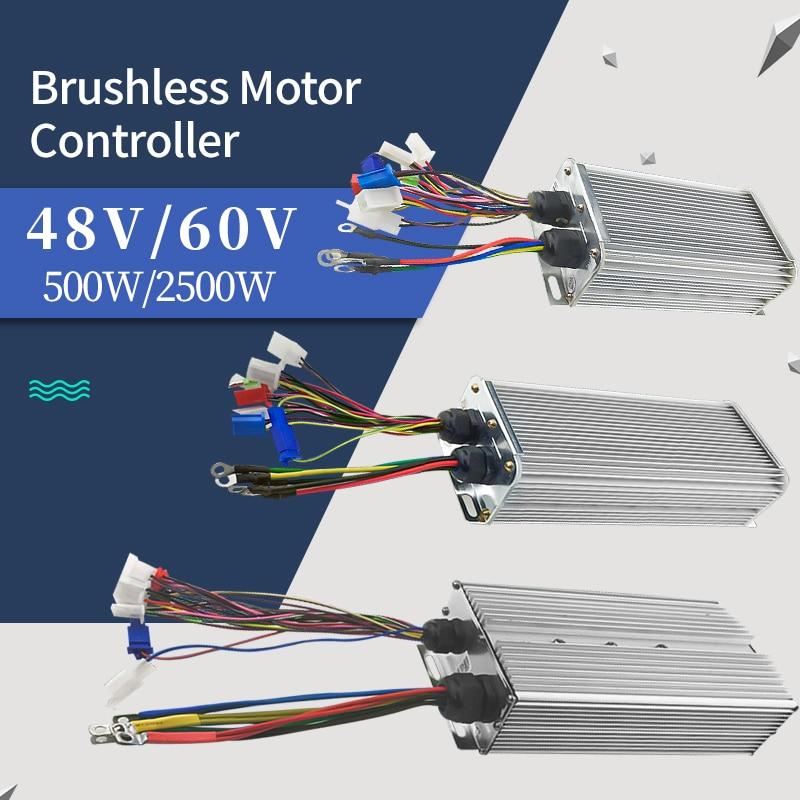 Controlador de Motor de cubo sin escobillas para coche, controlador Blcd para...