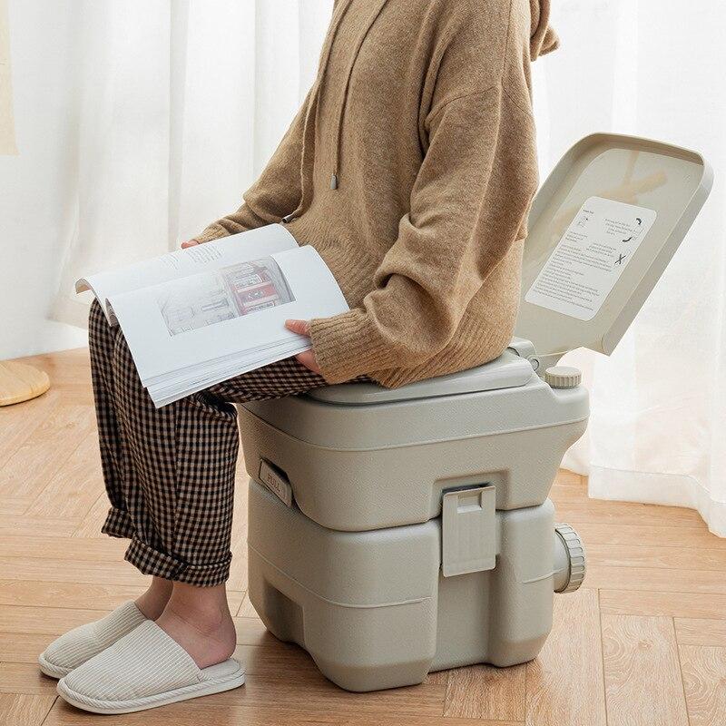 10L&20L Deodorant Urine Bucket Flush Outdoor Indoor Travel Camping Portable Toilet For Rv Car Boat Caravan Campsite Hospital