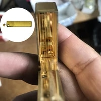 replacement upper cover echo plate screw tuning board shrapnel screw set fit for dupont ligne 2gatsby lighter repair inner part
