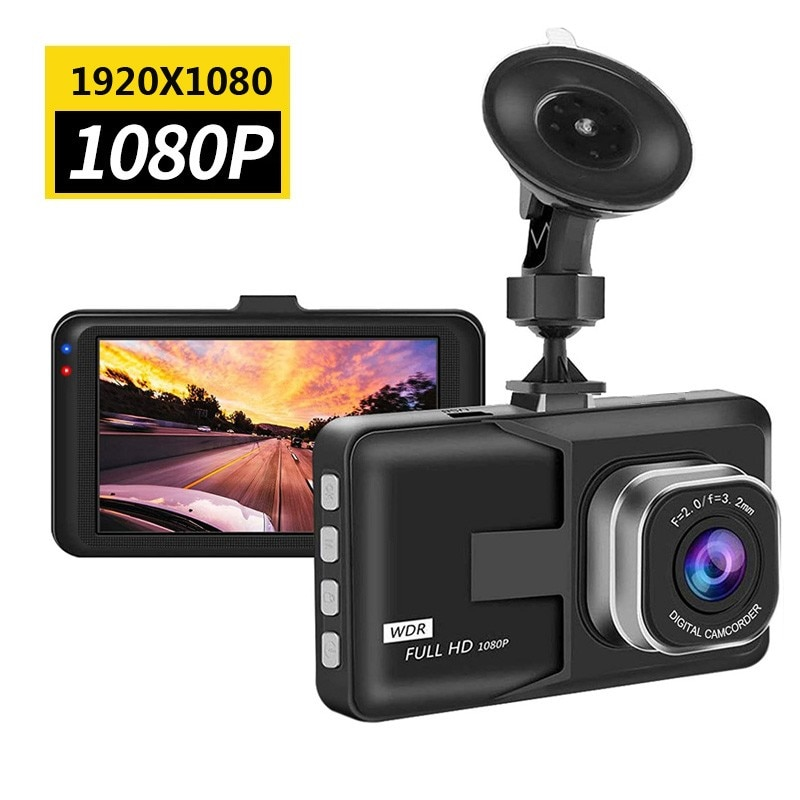 High Quality Car Driving Recorder Vehicle Camera 3Inch Full HD 1080P DVR Dashcam With Motion Detection Night Vision G Sensor