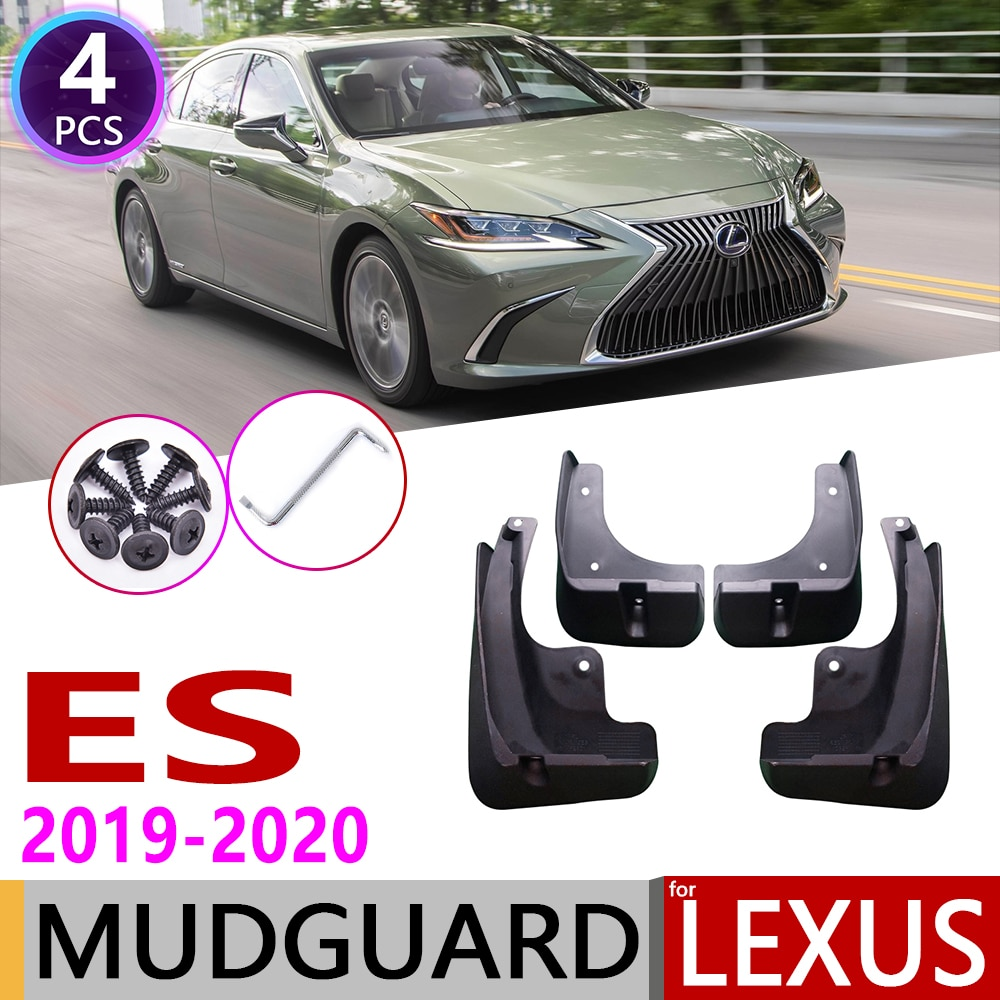 Dla Lexus ES ES300h ES350 F-Sport XZ10 2019 ~ 2020 samochodów błotnik błotnik Mud klapy Guard Splash klapy błotniki akcesoria 7th 7 Gen
