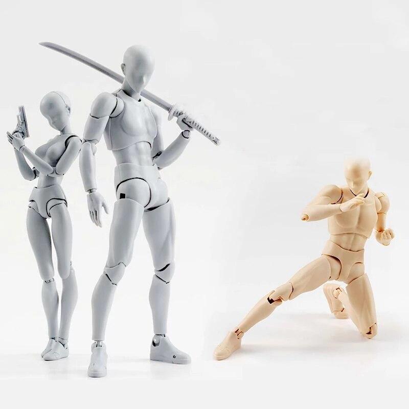 Аниме-фигурки, подвижные фигурки, игрушечное тело, Кун, тело, Тянь, экшн-фигурки, Коллекционная модель, игрушки, рисование эскизов, манекен