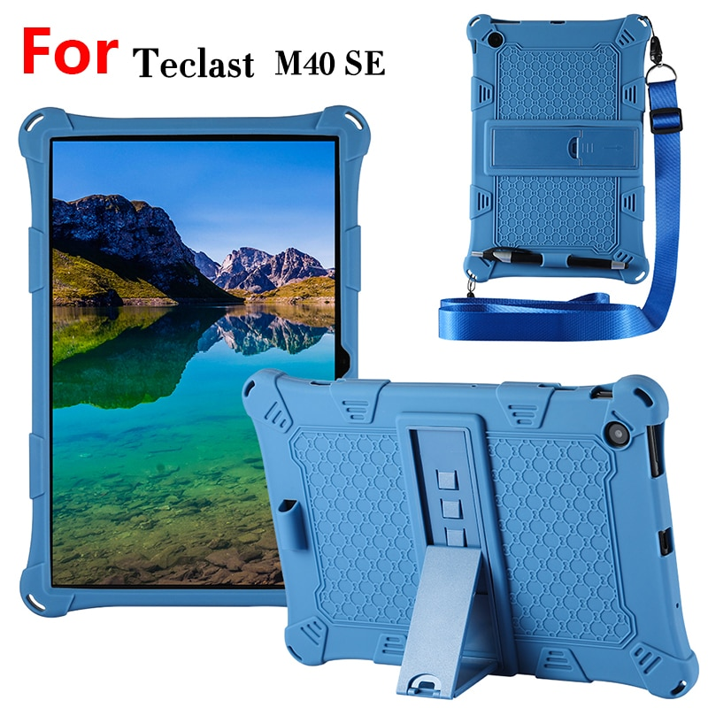 """Protective Case For Teclast M40se 10.1""""Tablet PC,Stand Holder Silicone Cover Case For Teclast M40 SE"""