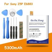 Высокое качество 5300mAh LIS1605ERPC батарея для SONY Xperia Z5 Premium Z5P Dual E6883 E6853 сменные батареи + Бесплатные инструменты