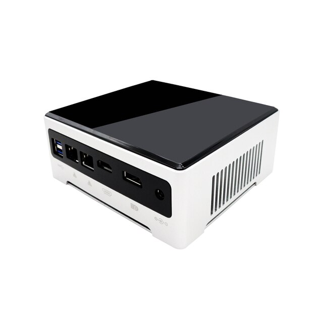 Fan Mini Pc Intel Core i7 1065G7 i5 1035G4 Iris Graphics 940 2*DDR4 2*M.2 NVME HDMI DP 4K Windows10 Pro Linux Desktop Computer 2