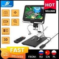 andonstar ad206 digital microscope with uv filter control for pcb phone repair soldering tool industrial maintenance magnifier