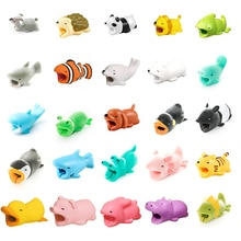1 Pcs Animal Cable Cover Protector For Iphone Protege Cable Buddies Cartoon Cable Cover Kabel Diertj