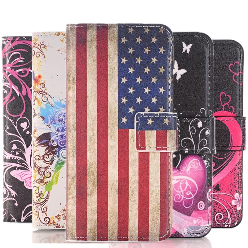 Retro amor cuero cartera Flip caso suave para Samsung Galaxy Grand Neo Plus duos I9082 i9062 GT i9060i 9082 de 9060 de la cubierta del teléfono