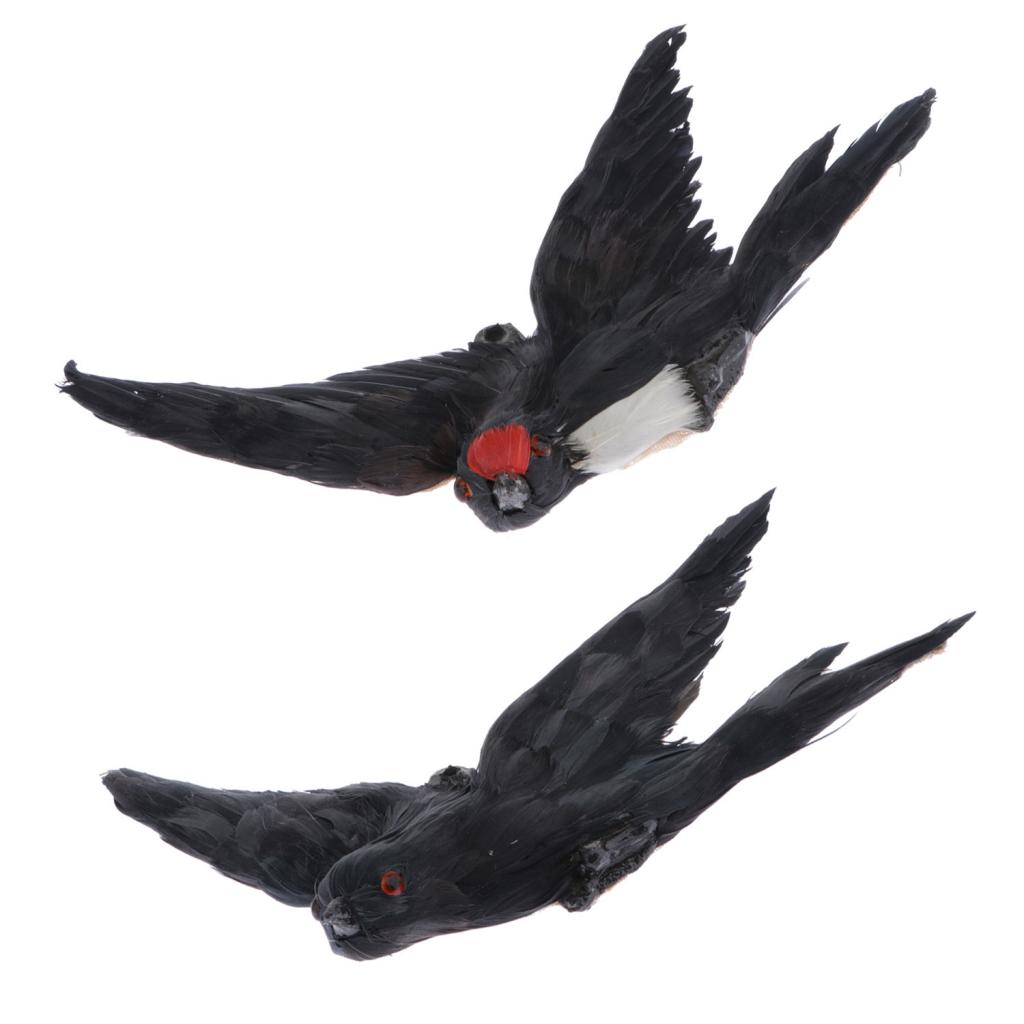 Adorable Decorative Artificial Flying Bird Figurine Kids Science Nature Toy