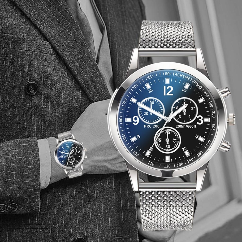 Luxury Watches Mens Business Waterproof Quartz Wrist Watch Stainless Steel Dial Casual Sport Watch Male Clock Relogio Masculino
