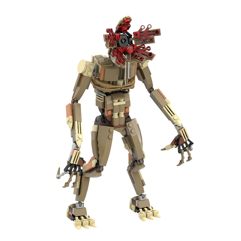 moc 38943 action figure demogorgobed bricks compatible with small building blocks assemble kid s children s toys gifts MOC Movie Series Demogorgobed Action Figures Model Building Blocks 350PCS DIY Bricks Collection Xmas Gifts For Children