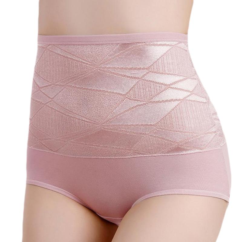 Calcinha feminina calcinha feminina impressão íntima senhoras algodão jacquard briefs calcinha de cintura alta