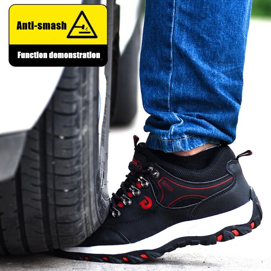 DM23 أحذية عمل واقية الربيع الخريف الرجال حذاء كاجوال جديد وصول التهوية موضة أحذية رياضية في الهواء الطلق السياحة