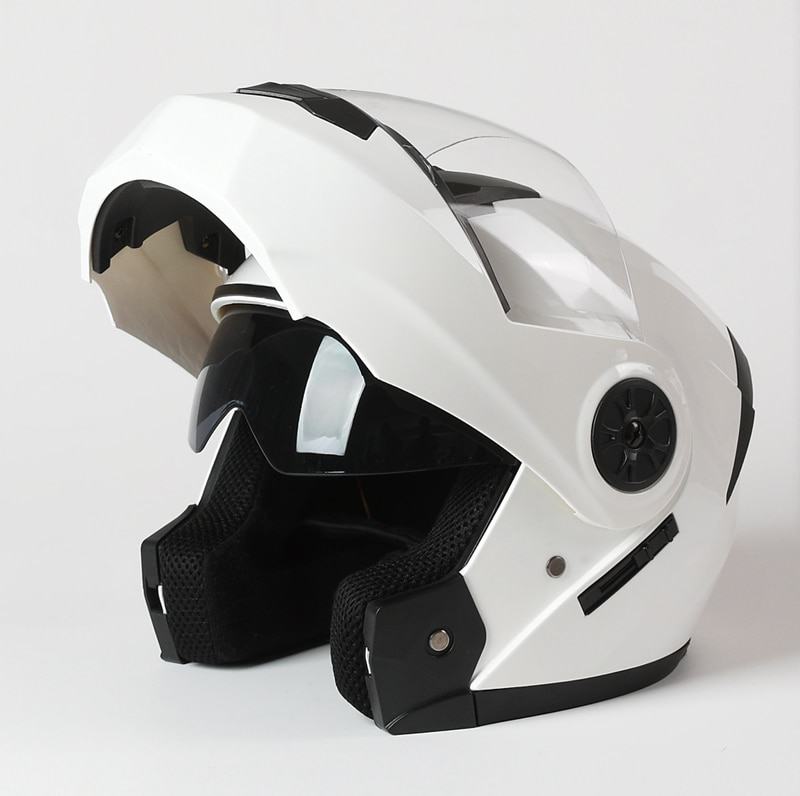 Men Motorcycle Flip Up Safe Helmets Casco Moto Riding ABS Material Helmet DOT Certification Capacete Casque 2020 enlarge