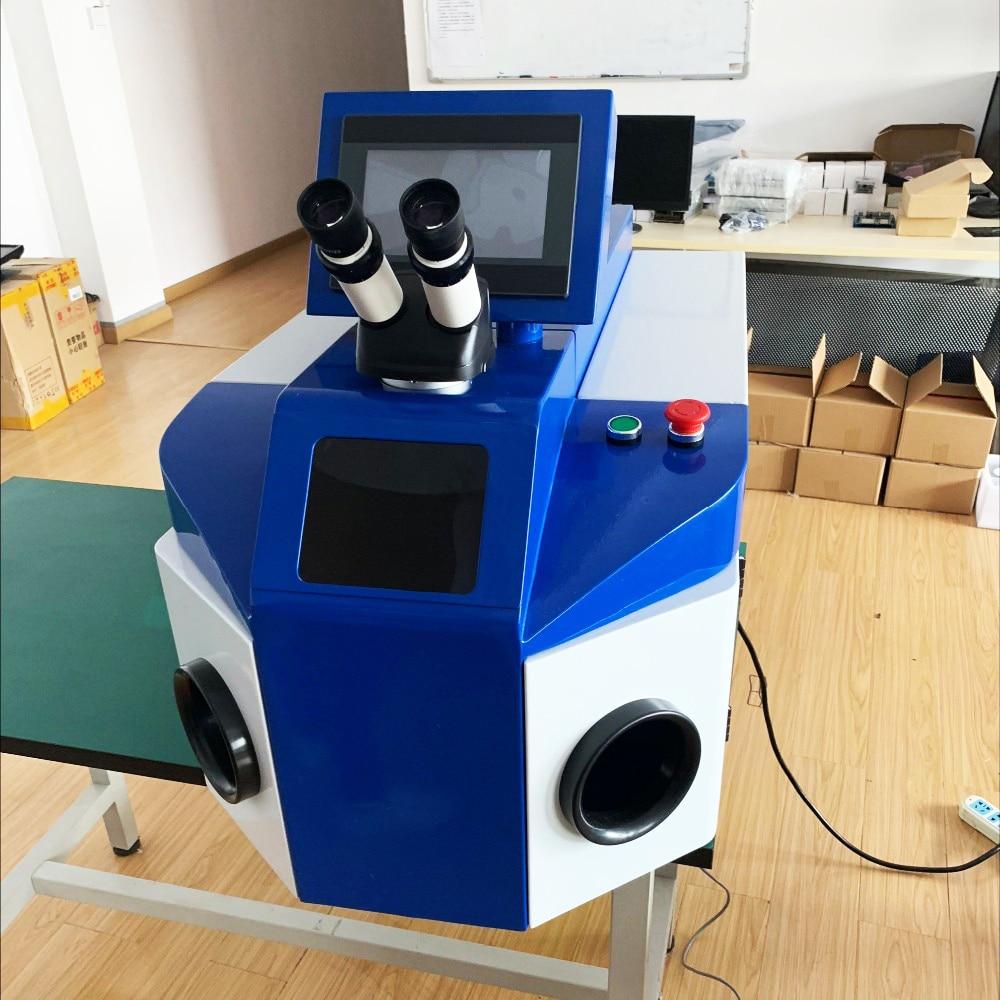 Fabricado en China con microscopio o máquina de soldadura láser de joyería CCD para orfebrería Dental