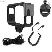 Защитная рамка для шлема фиксированная Рамка Держатель для оригинального SJCAM SJ9 Max Strike Sj4000X аксессуары для экшн камеры
