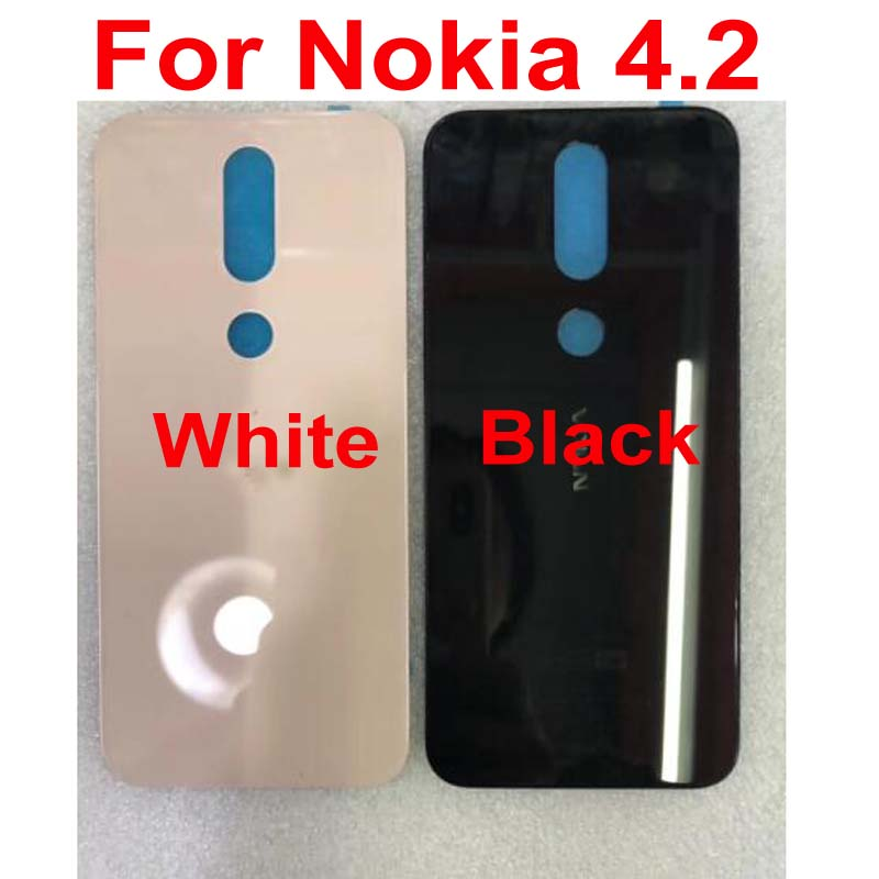 Buena cubierta trasera de la batería carcasa de la puerta trasera carcasa Original del teléfono para Nokia 4,2 TA-1184 TA-1133 TA-1149 TA-1150 TA-1157