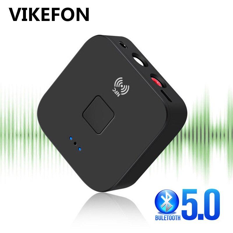 Receptor Bluetooth 5,0 NFC 3,5mm Jack RCA estéreo Aux música adaptador inalámbrico AUTO en/de Bluetooth 5,0 4,2 receptor de Audio