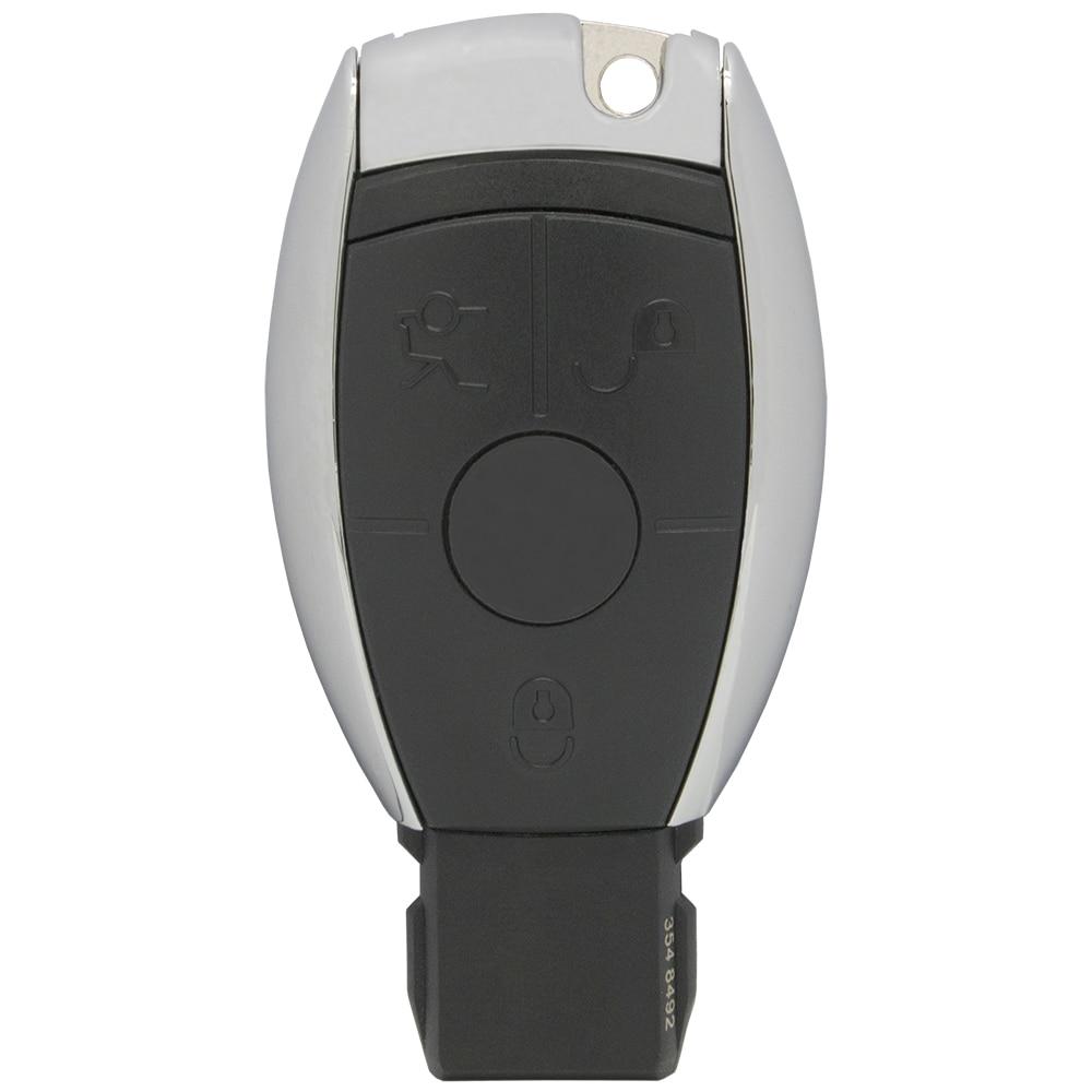 WhatsKey 3 кнопки дистанционного ключа автомобиля оболочки Fob чехол для Mercedes для Benz CLS W204 W202 W212 W211 W203 W205