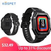 Smartwatch Man KOSPET ROCK Rugged Smart Watch Full Touch Fitness Tracker Bluetooth Waterproof Male Watch Bracelet for Xiaomi
