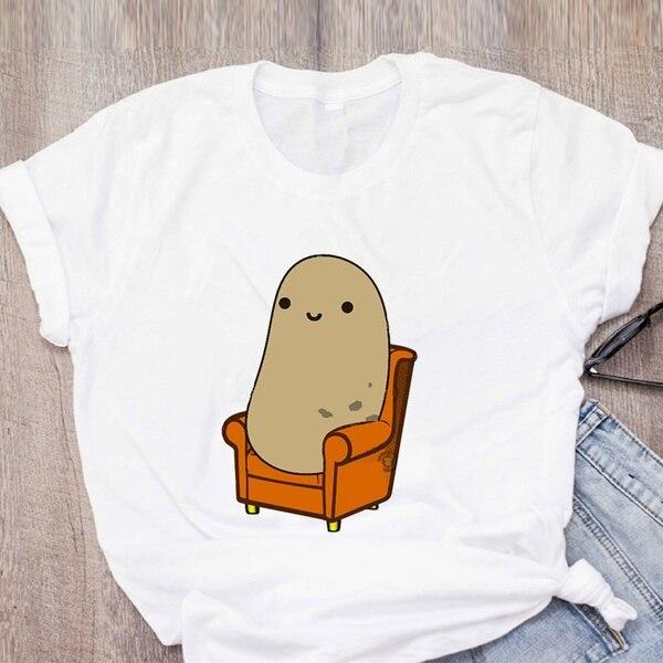 Meu espírito animal é uma batata t camisa batata batata batata batata camisa engraçado sofá batata preguiçoso comida carboidratos eu sou uma batata t bonito