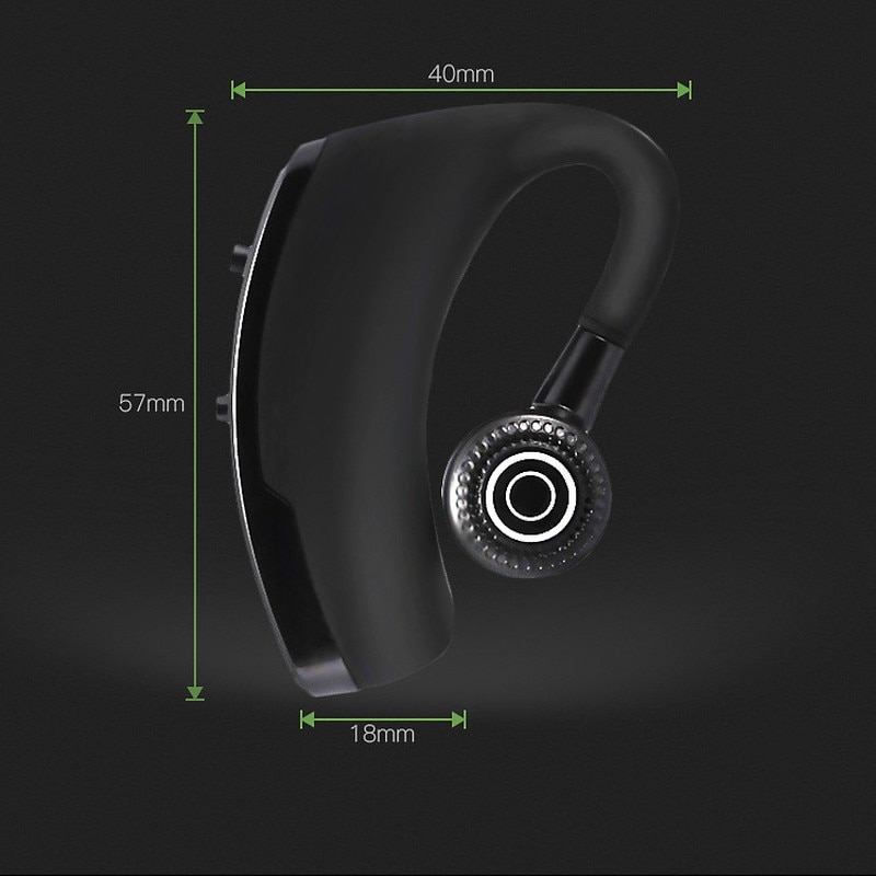 Bluetooth Earphones Noise Control Business Wireless Bluetooth Headset with Mic for Driver Sport Handsfree Wireless enlarge